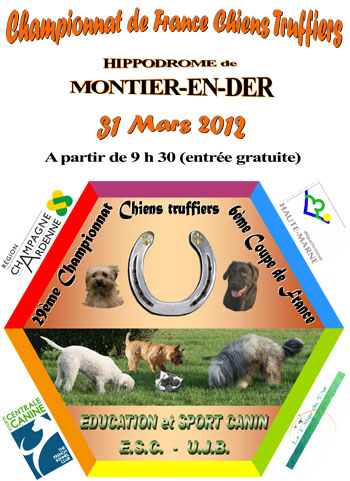 Affiche Championnat de France - Hippodrome Montier-en-Der