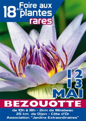18ème foire aux plantes rares de bézouotte