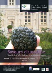 Affiche week-end des saveurs joinville 2012