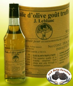 Huile d'olive vierge extra gout truffe 50cl