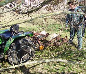 Entretien plantation truffière