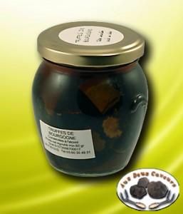 Bocal de truffes de bourgogne - 80gr