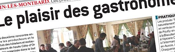 2ème Rencontre entre producteurs et restaurateurs de Haute Côte d'Or