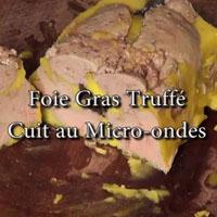 Foie gras à la truffe de bourgogne