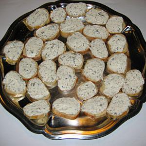 Toasts au saint morey et truffes de bourgogne