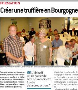Créer une truffière en Bourgogne